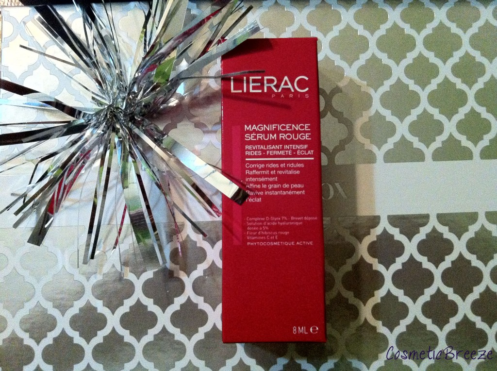 Lierac Magnificence Serúm Rouge