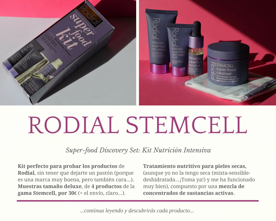 Rodial Stemcell Superfood Kit Descubrimiento