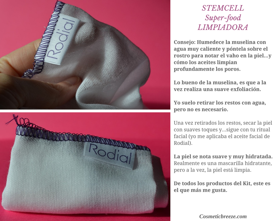 Rodial Stemcell Cleanser Muselina