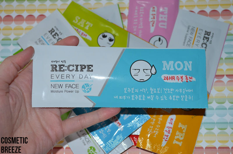 RECIPE-EVERYDAY-NEW-FACE-MASK-7-SHEETS-MONDAY
