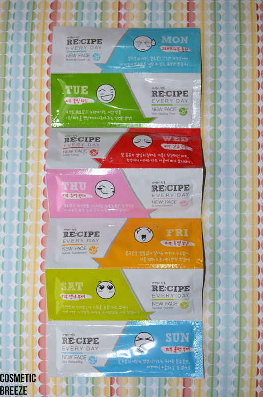 RECIPE-EVERYDAY-NEW-FACE-MASK-7-SHEETS