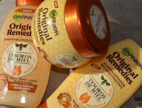 gama-Garnier-original-remedies-miel Probando Tesoros de Miel, de Original Remedies - Garnier