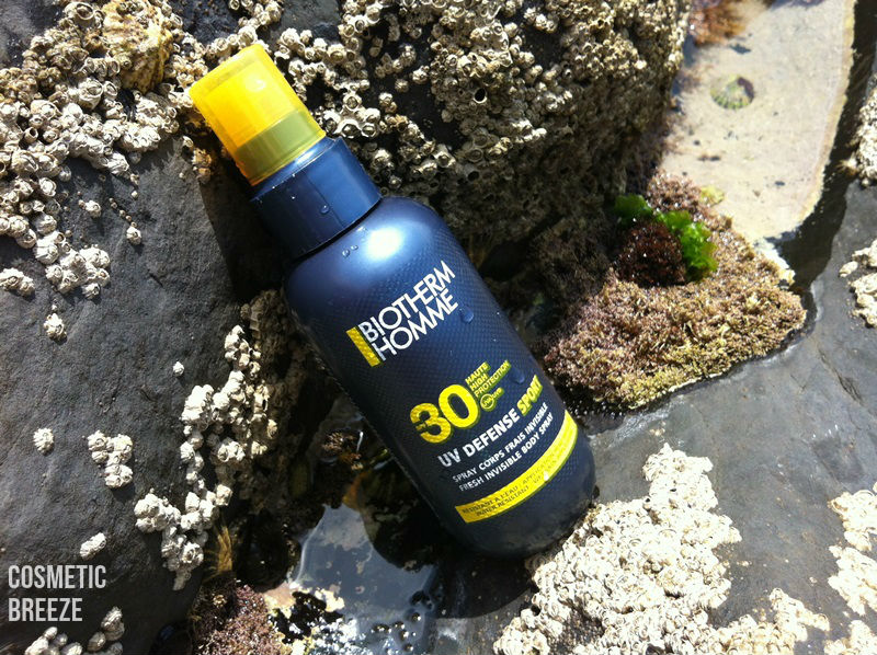BIOTHERM HOMME-UV-DEFENSE-SPORT-QUIKSILVER-SURF-TEAM-SPF30-ENVASE-PACKAGING