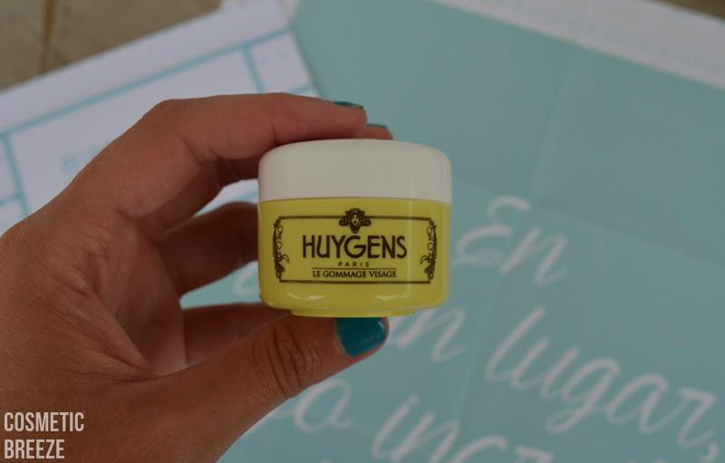 BIRCHBOX de Agosto 2015 - Nuevas Aventuras - Huygens - exfoliante facial de arroz y te verde