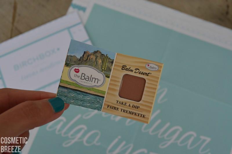 BIRCHBOX de Agosto 2015 - Nuevas Aventuras - the balm - bronzer blush