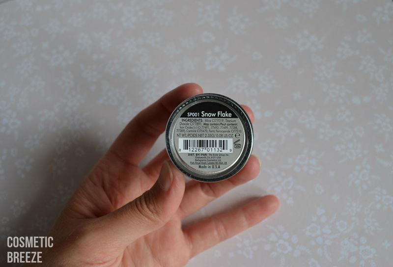 LOOKFANTASTIC BEAUTYBOX AGOSTO 2015 -pigmentos en polvo iluminadores de BellaPIERRE-polvos-color-ingredientes