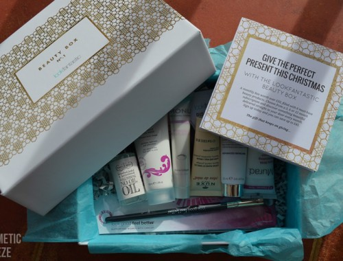 LOOKFANTASTIC BEAUTY BOX N1 OCTUBRE 2015