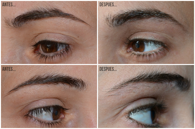 M2 BEAUTE - M2 BEAUTE - EYEBROW RENEWING SERUM - ANTES Y DESPUES