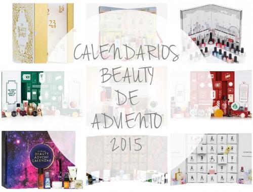CALENDARIO BEAUTY DE ADVIENTO 2015
