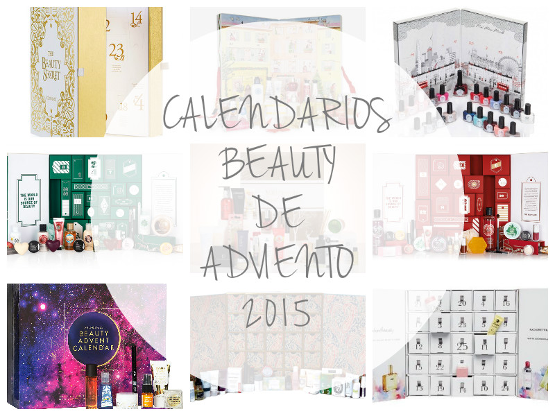 CALENDARIO BEAUTY DE ADVIENTO 2015