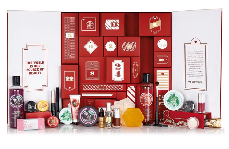 CALENDARIO DE ADVIENTO DE LUJO THE BODY SHOP