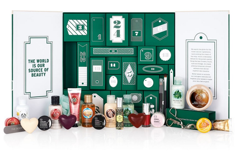 CALENDARIO DE ADVIENTO NORMAL THE BODY SHOP