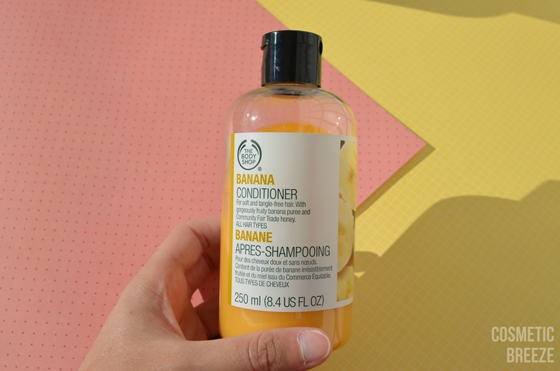 THE BODY SHOP - BANANA CONDITIONER - ACONDICIONADOR DE PLÁTANO