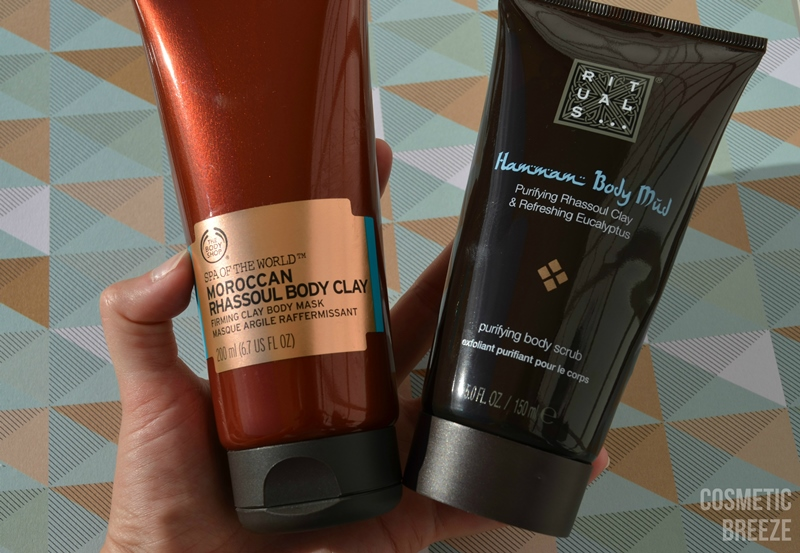 arcilla de rituals y the body shop