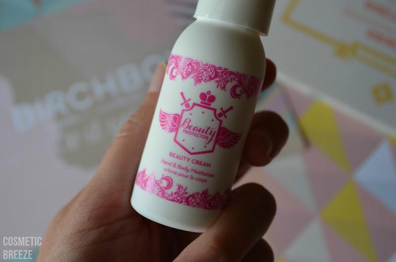 birchbox de noviembre 2015 - beauty protector crema corporal
