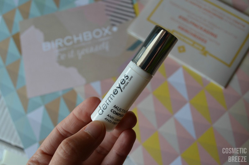 birchbox noviembre 2015 - derm eyes optical care