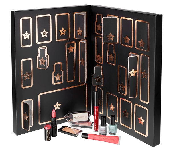 makeup revolution advent calendar basic