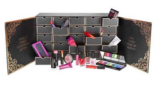 makeup revolution advent calendar chest