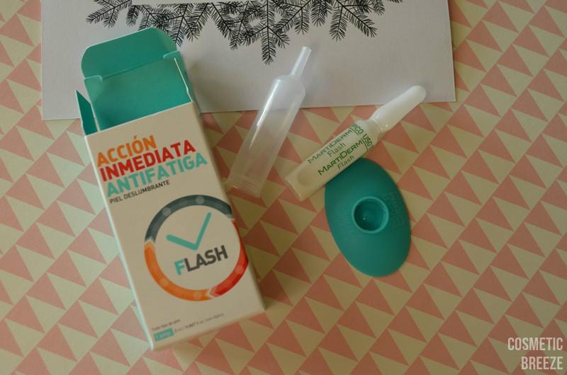 BIRCHBOX DE DICIEMBRE - Martiderm Ampollas flash monodosis