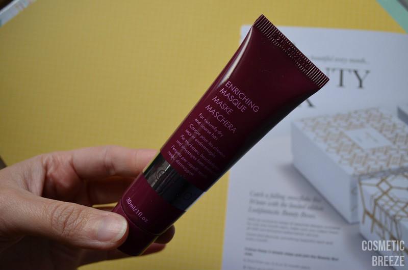 LOOKFANTASTIC BEAUTY BOX DE NOVIEMBRE - KEBELO mascarilla cabellos secos y estropeados