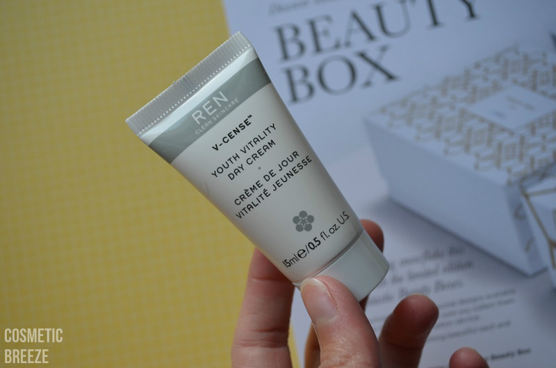 LOOKFANTASTIC BEAUTY BOX DE NOVIEMBRE - REN VCENSE crema de día