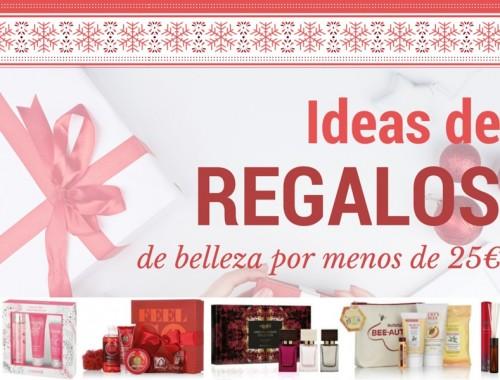 portada ideas regalos por menos de 25€