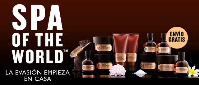 Spa of the world - the body shop - coleccion completa - envio gratis codigo SPA2015