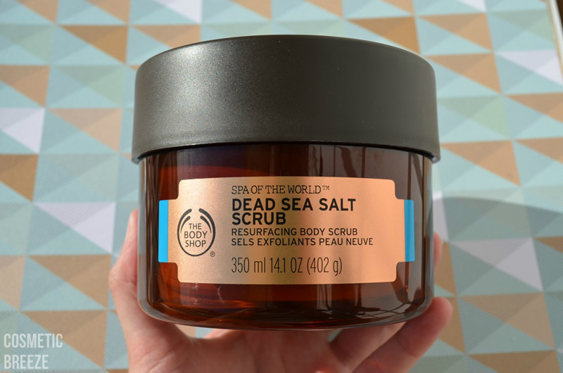 the body shop - spa of the world - dead sea salt body scrub - portada