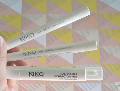 tratamiento para cutículas y uñas de kiko milano