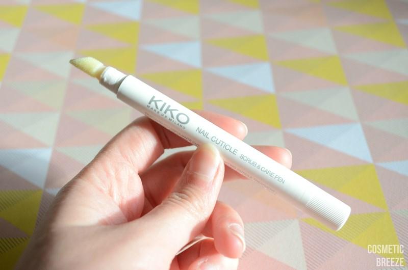 KIKO nail cuticle scrub pen - rotulador exfoliante para cuticulas