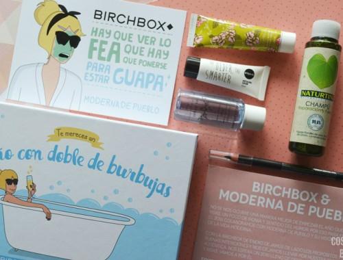 birchbox de enero con moderna de pueblo contenido