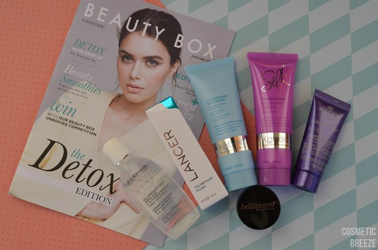 lookfantastic beauty box de enero 2016 contenido de la caja de belleza