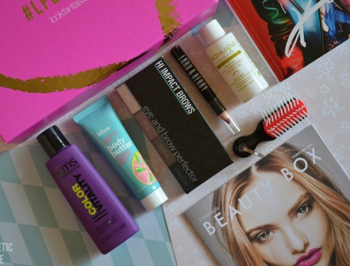 LOOKFANTASTIC BEAUTY BOX DE FEBRERO 2016 LFLOVES