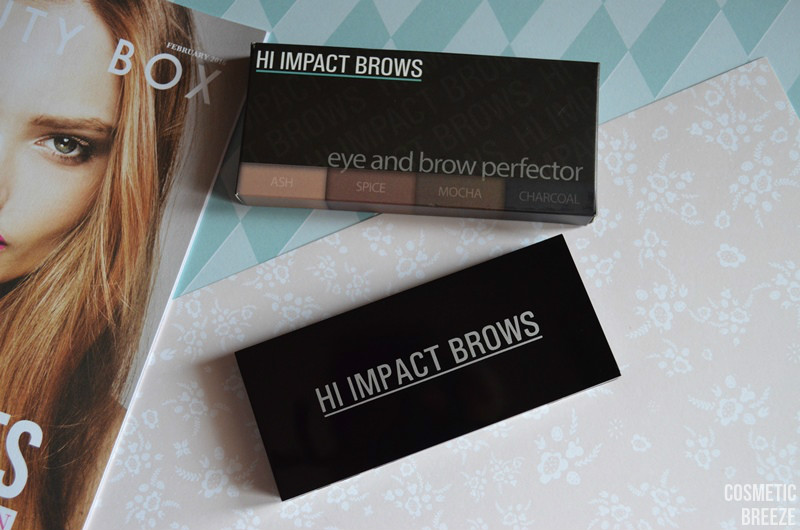 LOOKFANTASTIC BEAUTY BOX DE FEBRERO LFLOVES - HI IMPACT BROWS PERFECTOR PALETTE