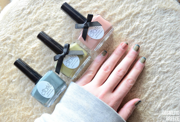Manicure monday - Manicura francesa de colores