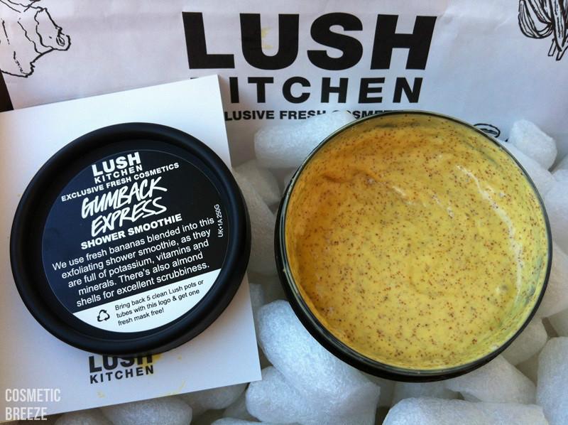 lush kitchen - productos terminados - Gumback Express textura del jabón cremoso