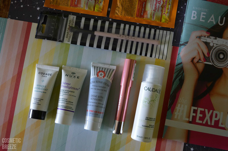 LOOKFANTASTIC BEAUTY BOX DE MARZO 2016 LFEXPLORER Unboxing