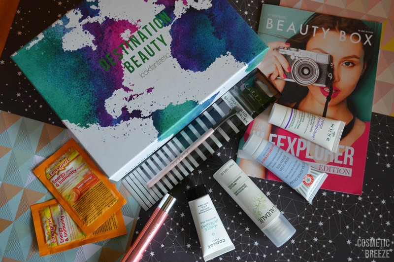 LOOKFANTASTIC BEAUTY BOX DE MARZO 2016 LFEXPLORER