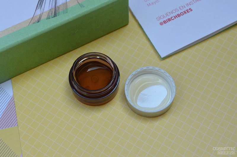 Birchbox de Mayo 2016 - Textura de Ecologic Cosmetics Facial and Eye gel - Eyebright and Aloe Vera