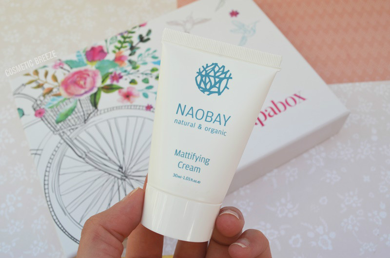 Cajita Guapabox de Abril 2016 - Naobay Mattifying Cream