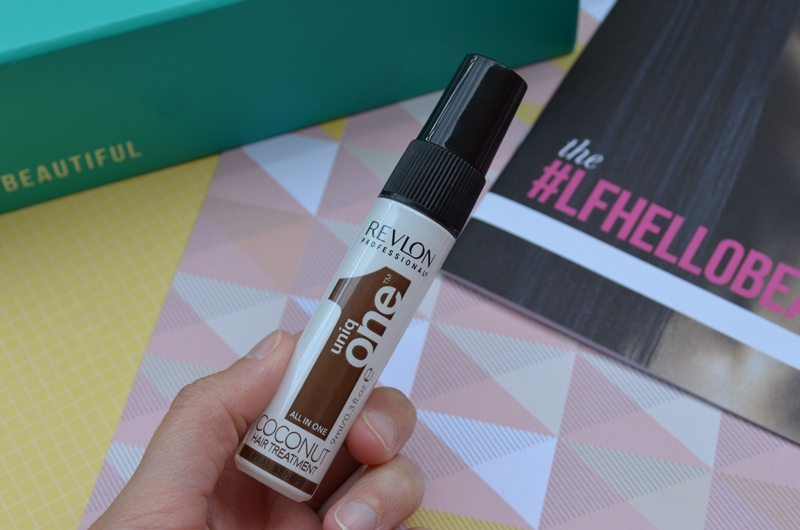 LOOKFANTASTIC BEAUTY BOX DE MAYO 2016 - UNIQ ONE Tratamiento capilar de coco