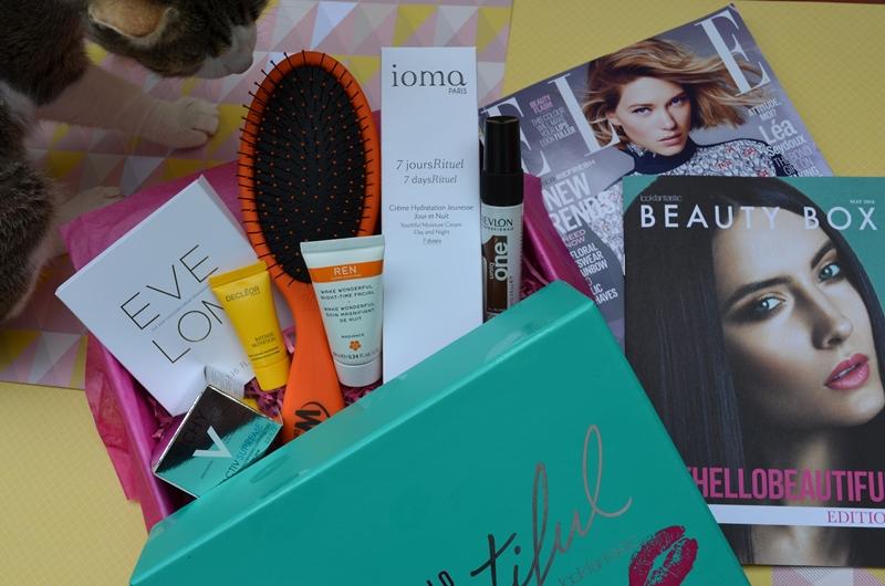 Lookfantastic Beauty Box de Mayo 2016 - Unboxing y contenido con Maui