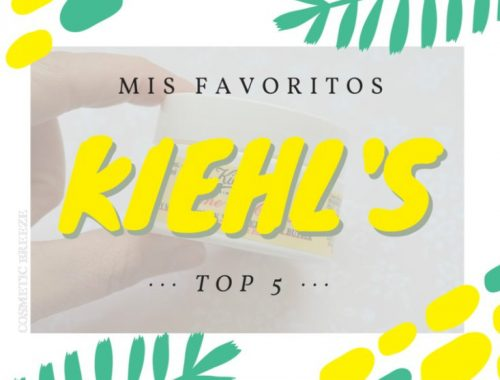 Mis cinco productos favoritos de KIEHLS - top five - friends and family day 2016