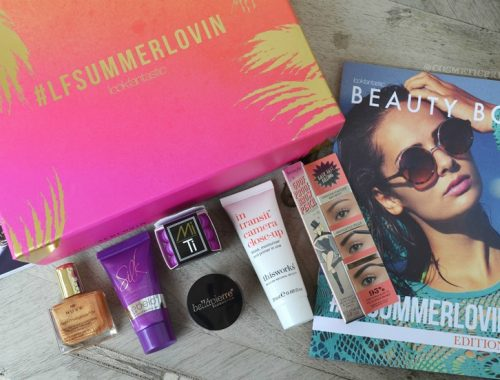 Lookfantastic Beautybox de Julio 2016 - Portada