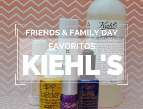 Post - friends & family de kiehl's