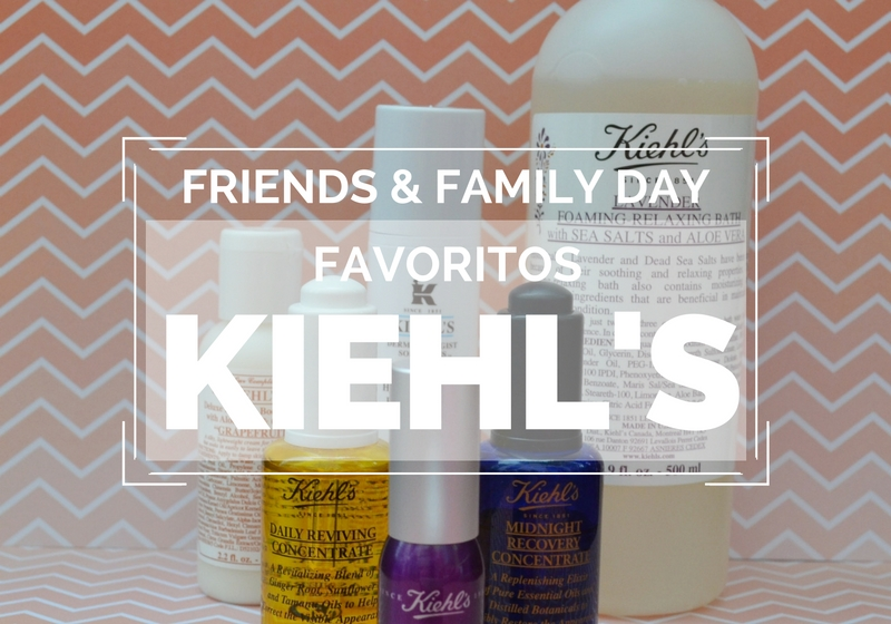 Post - friends & family de kiehl's