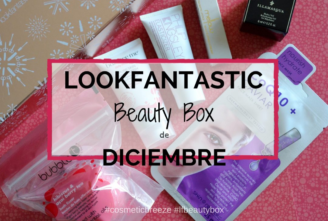 lookfantastic beauty box de diciembre -2016-portada