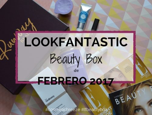 Lookfantastic Beauty Box de Enero 2017- RunWay