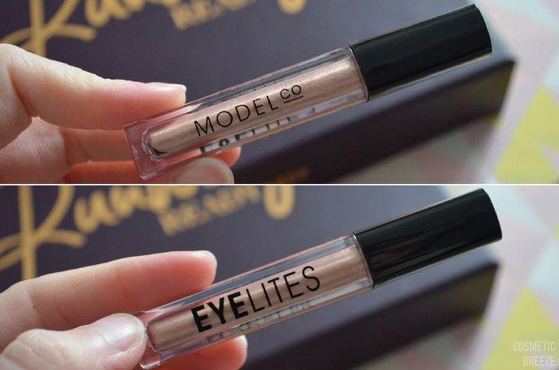 lookfantastic beauty box de febrero 2017 - ModelCo Eyelites Sombra de Ojos vd