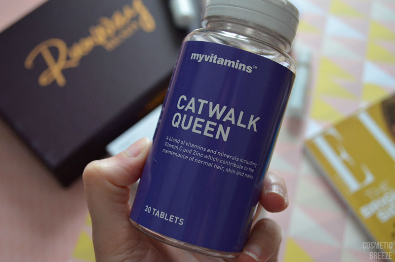 lookfantastic beauty box de febrero 2017 - MyVitamins Catwalk Queen